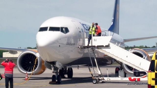 Mit der Boeing 737 MAX nach Berlin-Tegel