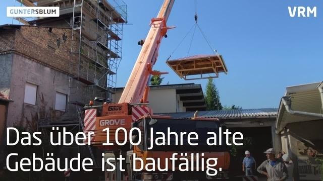 Guntersblum: Neues Dach für den Wasserturm