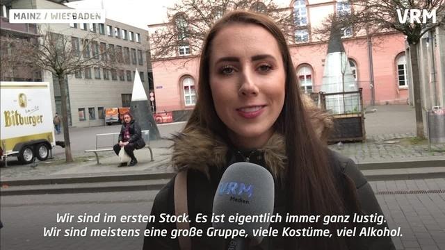 Wie feiern Mainzer und Wiesbadener Fastnacht?