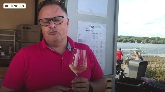 Neuer Wein-Ausschank am Budenheimer Rheinufer
