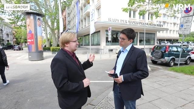 OB-Wahl in Wiesbaden: Linken-Kandidat Ingo von Seemen
