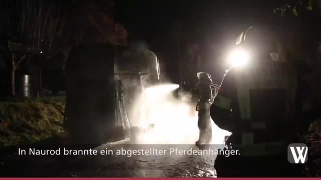 Wiesbaden: Einsätze von Feuerwehr und Polizei an Silvester
