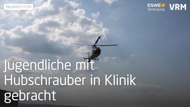 Taunusstein/Hohenstein: 15-Jährige bei Unfall schwer verletzt