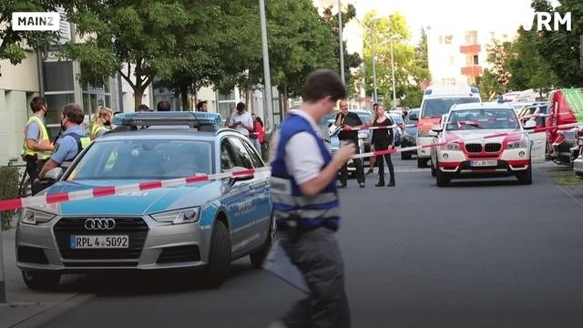 Mainz: Angreifer nach Messerattacke erschossen