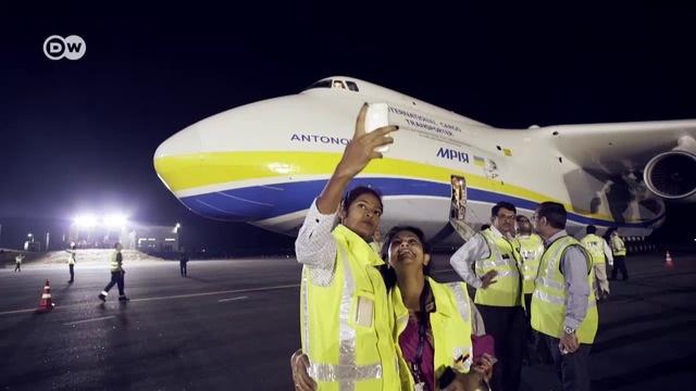 Weltreise mit der Antonov 225