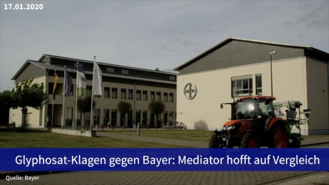 Aktie im Fokus: Glyphosat-Klagen gegen Bayer: Mediator hofft auf Vergleich