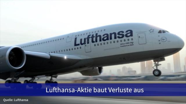 Aktie im Fokus: Lufthansa-Aktie baut Verluste aus