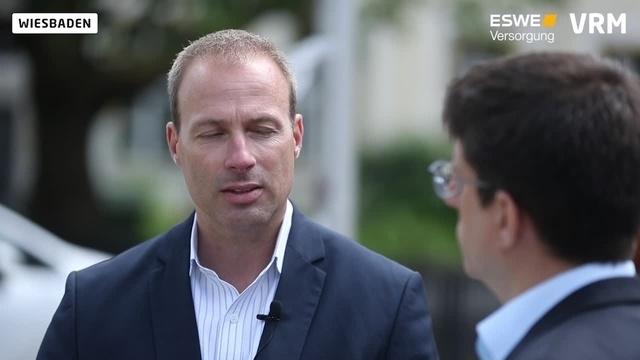 OB-Wahl in Wiesbaden: Kandidat Sebastian Rutten