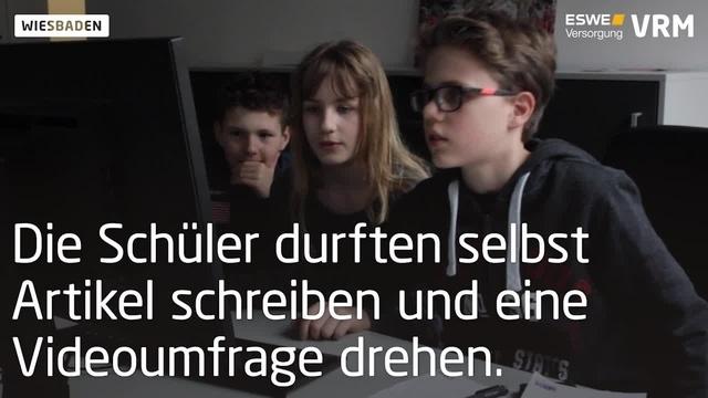 Girls und Boys Day beim Wiesbadener Kurier