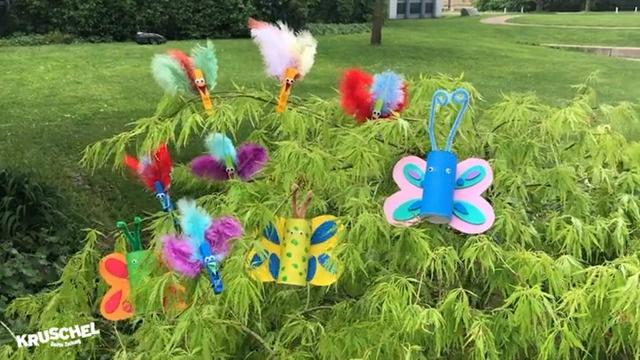 Mach mit: Pfiffige Vögel und bunte Schmetterlinge