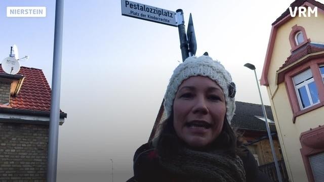 Patz der Kinderrechte in Nierstein eingeweiht
