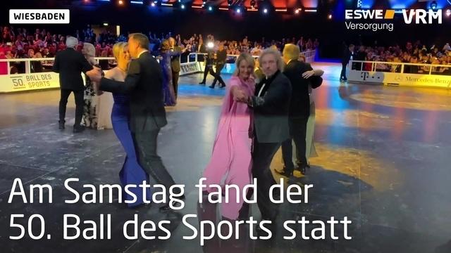 50. Ball des Sports im Wiesbadener RMCC
