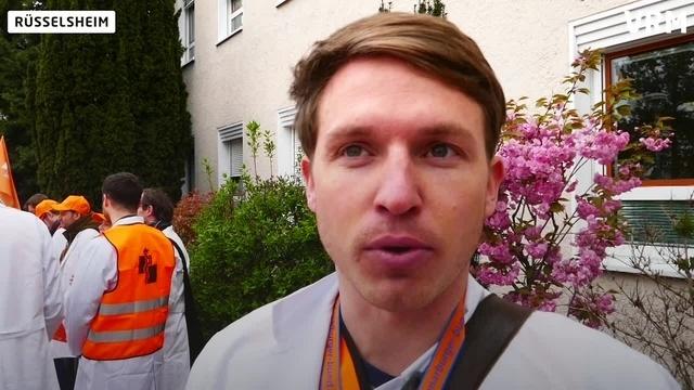 Rüsselsheimer beteiligen sich an Ärztestreik