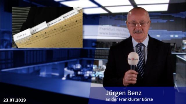 Börse erwartet hitzige Berichtssaison