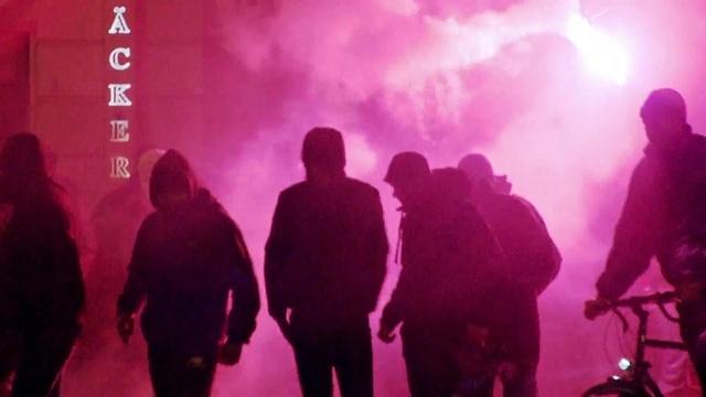 Linke Gewalt in Leipzig