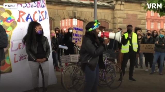 Mainz: Demo gegen Rassismus und Polizeigewalt