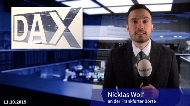 Dax steigt stark - SAP und Hoffnung im Handelsstreit beflügeln