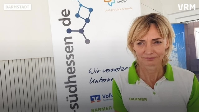 Olympiasiegerin Heike Drechsler zu Besuch in Darmstadt