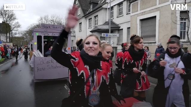 Karnevalszug in Wetzlar