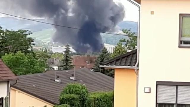 Feuer in Bad Sobernheim