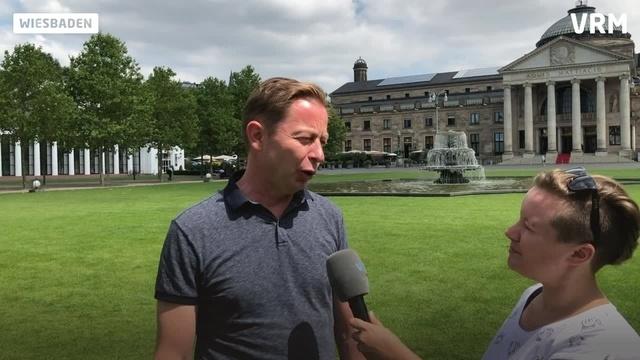 City-Biathlon-Veranstalter Ralf Niedermeier im Gespräch