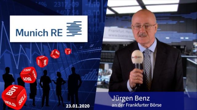Analyser to go: Munich Re mit wenig Luft nach oben
