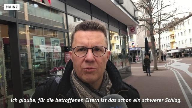 Schulen und Kitas zu - was denken die Mainzer?