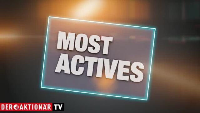 Most Actives: Wirecard, Apple, Steinhoff