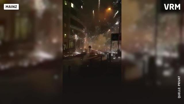 Enorme Explosion in der Silvesternacht in Mainz