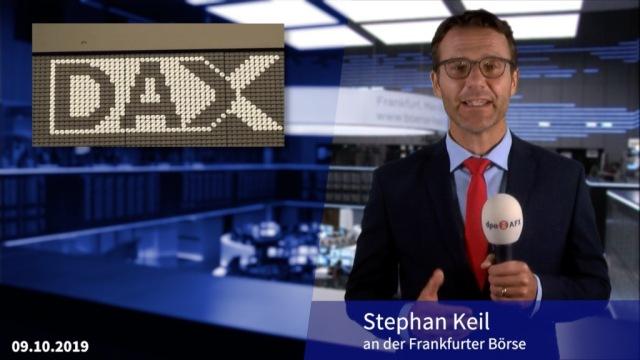 Dax auf Erholungskurs - Blicke auf Fed und Zollstreit