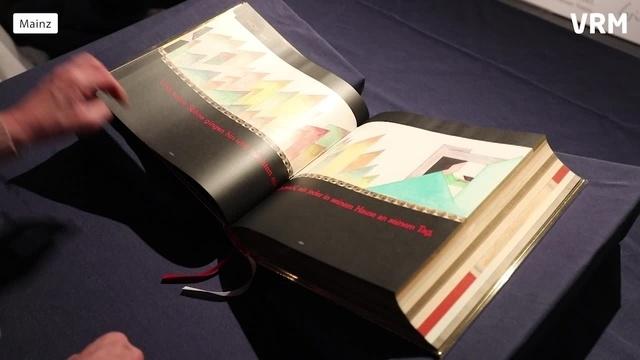 1200-Meter-Rekordbibel kommt ins Gutenberg-Museum