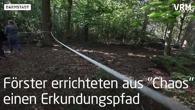 Eröffnung des Fabiennesteigs im Kranichsteiner Wald