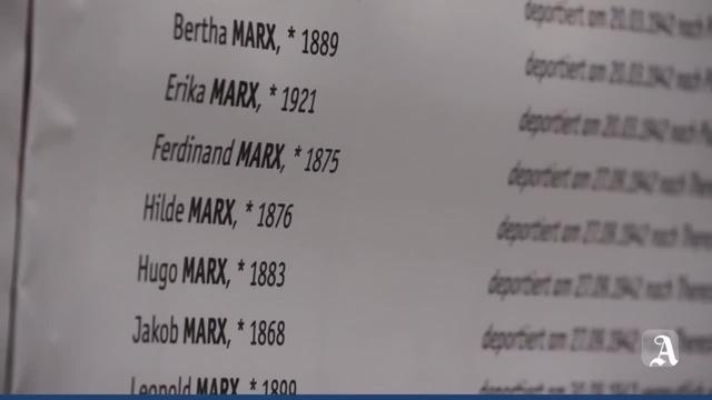 Mainzer gedenken ihrer ermordeten jüdischen Mitbürger