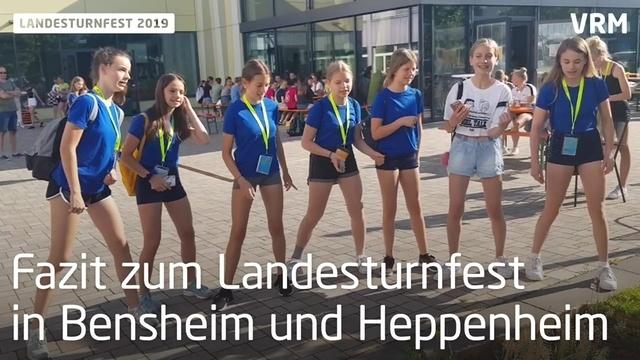 Fazit Landesturnfest 2019 in Bensheim und Heppenheim