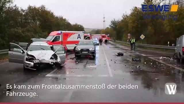 Schwerer Unfall auf der Grorother Straße