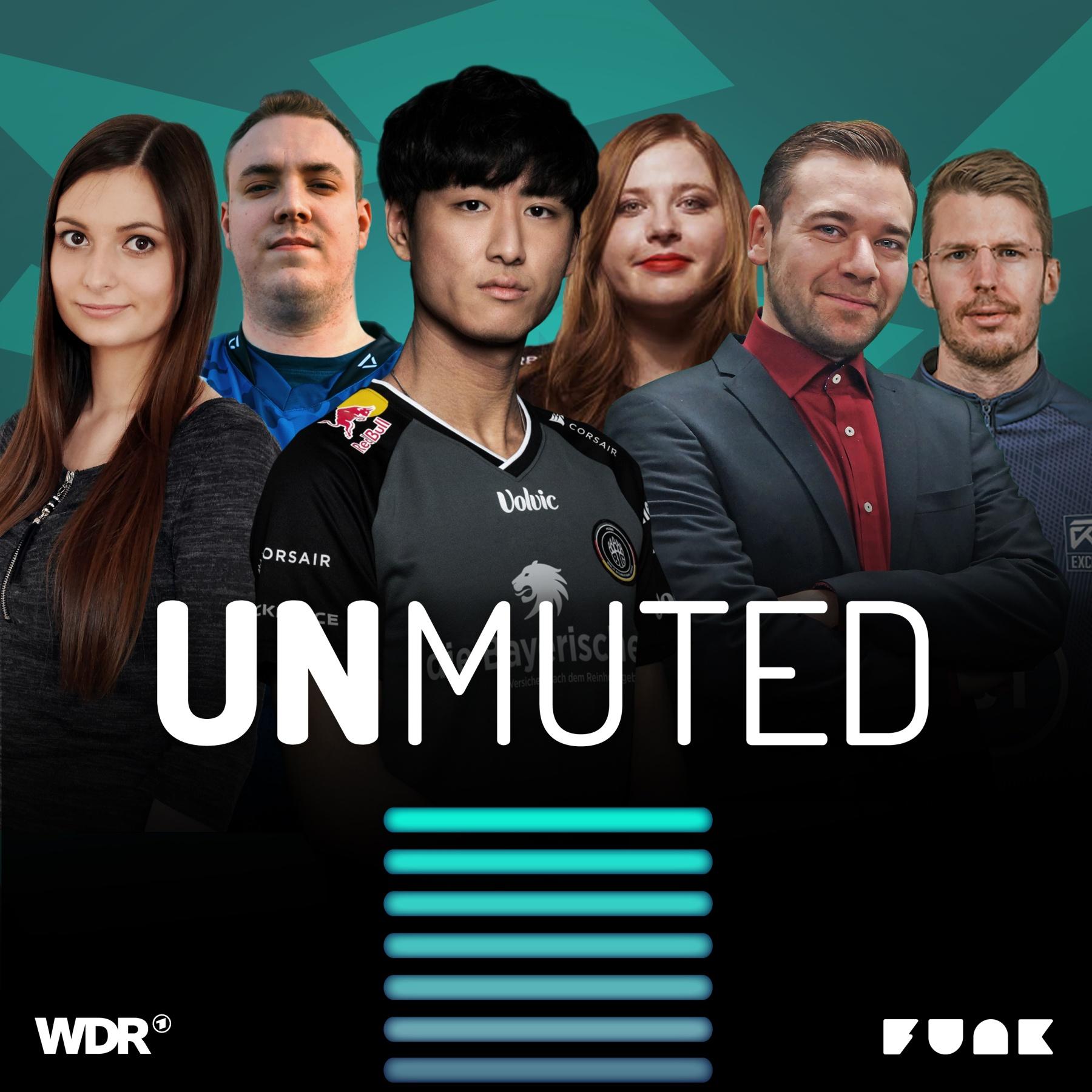 GG! Feat. Jannes, Maestra, Reeker, Valynora, Fabro und Freakii | #32 unmuted Esports-Podcast