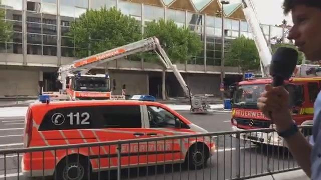 Brand der Mainzer Rheingoldhalle: Update 16.48 Uhr