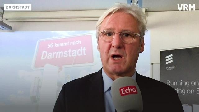 Oberbürgermeister Jochen Partsch zu 5 G in Darmstadt