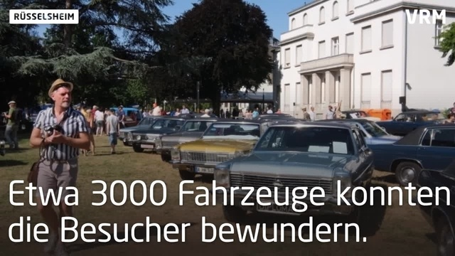 19. Klassikertreffen an den Opelvillen in Rüsselsheim