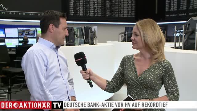 Deutsche Bank: Showdown bei der Hauptversammlung?