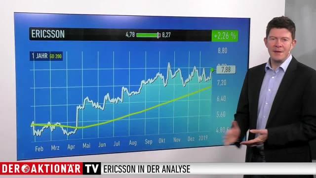 Trading-Tipp: Ericsson - Zahlen trotz Verlust über den Erwartungen
