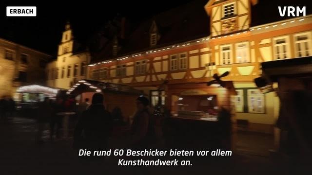 Weihnachtsmarktsaison im Odenwald ist eröffnet