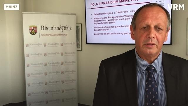 Mainzer Polizeipräsident Reiner Hamm im Interview