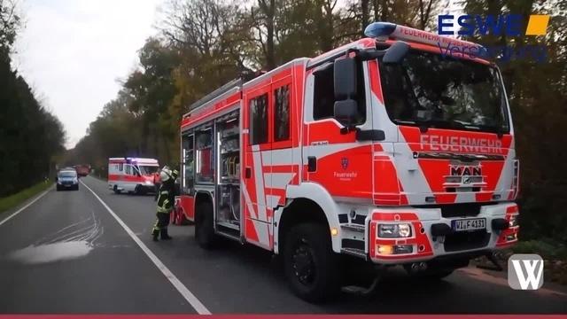 Unfall auf der B54 in Wiesbaden