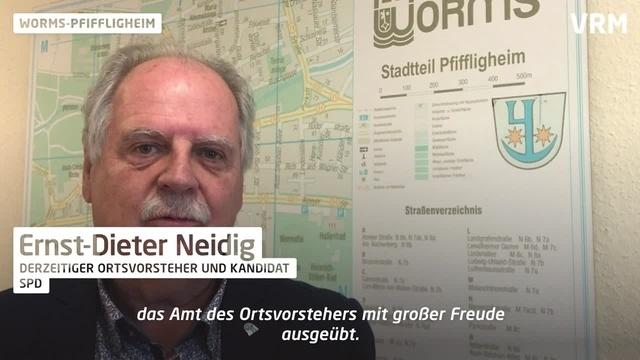 Vor der Wahl in Worms-Pfiffligheim