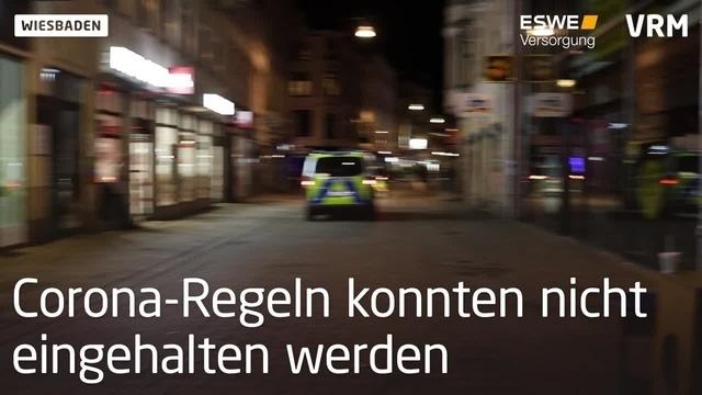 Wiesbaden: Verstärkte Polizeipräsenz am Wochenende