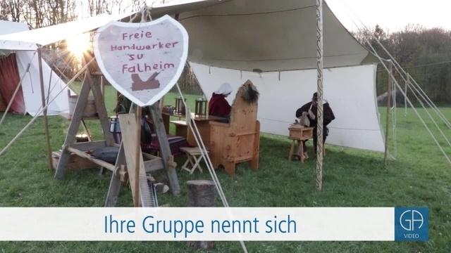 Mittelalterliches Lager auf dem Schiffenberg