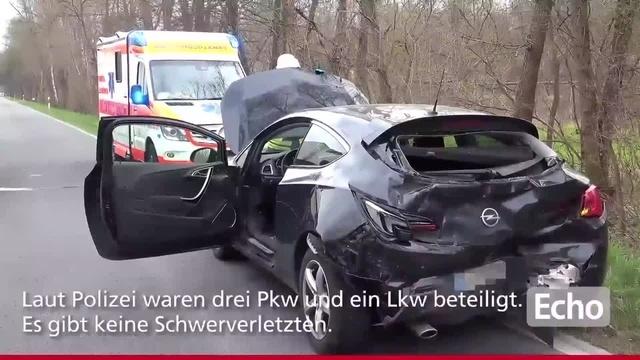 Unfall auf B44 zwischen Groß-Gerau und Mörfelden-Walldorf