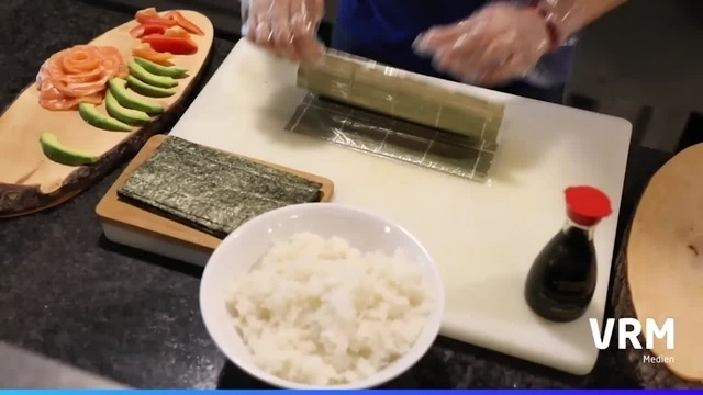 Drei Mal Sushi
