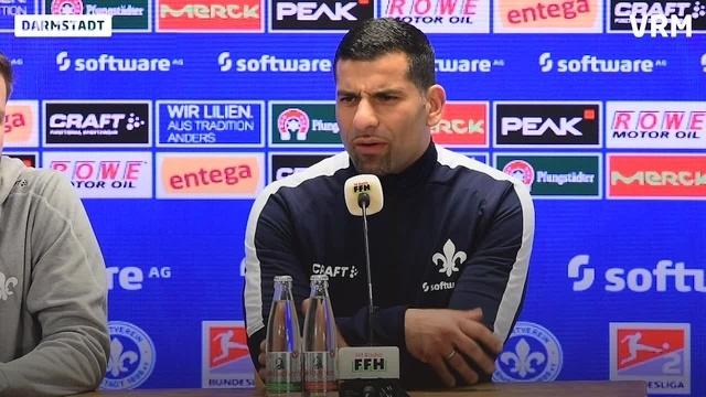 Pressekonferenz: SV Darmstadt gegen Greuther Fürth